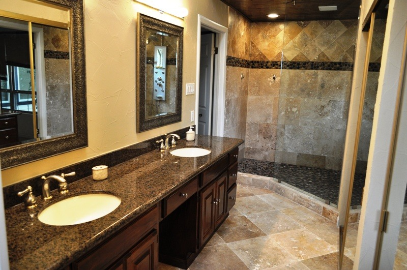 Bathroom Remodel No Tub bathrooms | millwood remodeling and design