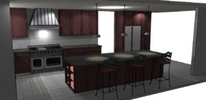 David M Kitchen Render - 2